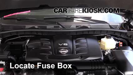 2017 Nissan Armada SV 5.6L V8 Fusible (motor)