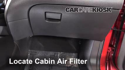 2017 Nissan Rogue Sport SL 2.0L 4 Cyl. Filtro de aire (interior)