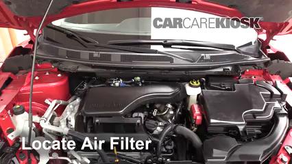 2017 Nissan Rogue Sport SL 2.0L 4 Cyl. Filtro de aire (motor)