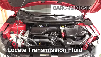 2019 Nissan Kicks S 1.6L 4 Cyl. Transmission Fluid