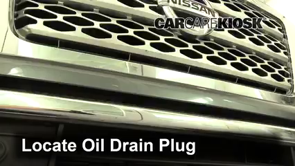 2017 Nissan Titan XD SL 5.6L V8 Oil Change Oil and Oil Filter