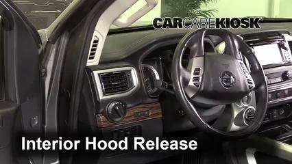 2017 Nissan Titan XD SL 5.6L V8 Capó