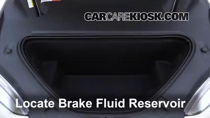 2017 Tesla S 90D Electric Brake Fluid