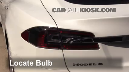 2017 Tesla S 90D Electric Lights Turn Signal - Rear (replace bulb)