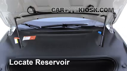 2017 Tesla S 90D Electric Windshield Washer Fluid