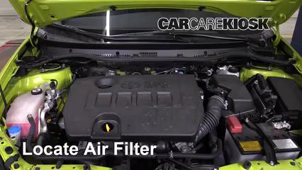 2017 Toyota Corolla iM 1.8L 4 Cyl. Air Filter (Engine)
