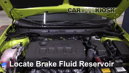 2017 Toyota Corolla iM 1.8L 4 Cyl. Brake Fluid