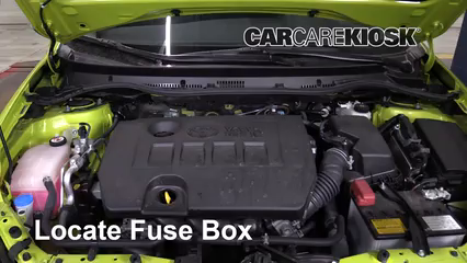 2017 Toyota Corolla iM 1.8L 4 Cyl. Fuse (Engine) Replace