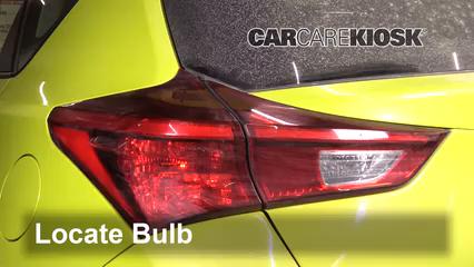2017 Toyota Corolla iM 1.8L 4 Cyl. Lights Brake Light (replace bulb)