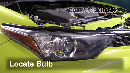2017 Toyota Corolla iM 1.8L 4 Cyl. Lights Daytime Running Light (replace bulb)