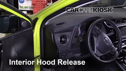2017 Toyota Corolla iM 1.8L 4 Cyl. Belts