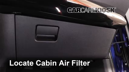 2017 Toyota Prius Four 1.8L 4 Cyl. Air Filter (Cabin)