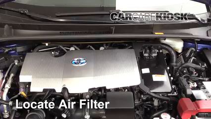 2017 Toyota Prius Four 1.8L 4 Cyl. Air Filter (Engine)
