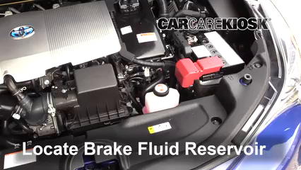 2017 Toyota Prius Four 1.8L 4 Cyl. Brake Fluid