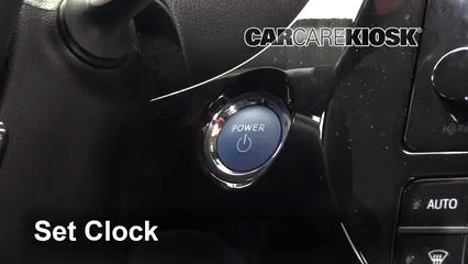 2017 Toyota Prius Four 1.8L 4 Cyl. Clock