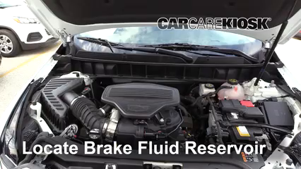 2018 Cadillac XT5 Premium Luxury 3.6L V6 Brake Fluid