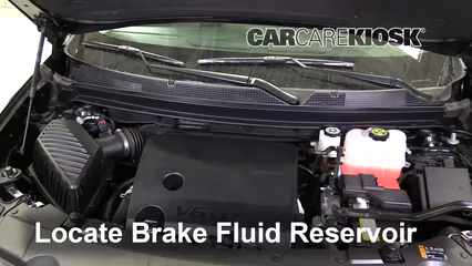 2018 Chevrolet Traverse High Country 3.6L V6 Brake Fluid Check Fluid Level