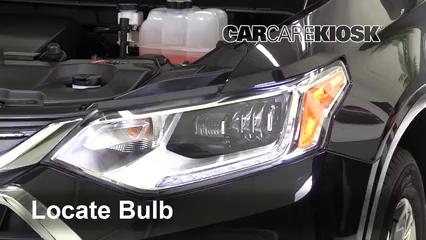 2018 Chevrolet Traverse High Country 3.6L V6 Lights Turn Signal - Front (replace bulb)