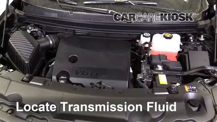 2018 Chevrolet Traverse High Country 3.6L V6 Transmission Fluid Fix Leaks