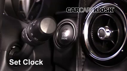 2018 Mazda CX-3 Grand Touring 2.0L 4 Cyl. Clock