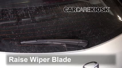 2018 Mazda CX-3 Grand Touring 2.0L 4 Cyl. Windshield Wiper Blade (Rear)