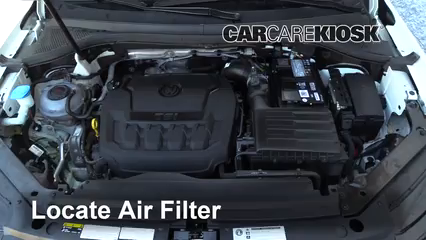 2018 Volkswagen Tiguan SE 2.0L 4 Cyl. Turbo Air Filter (Engine)