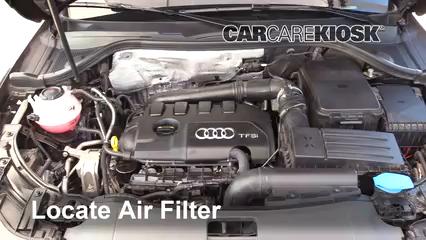 2018 Audi Q3 Quattro Premium 2.0L 4 Cyl. Turbo Filtre à air (moteur) Contrôle