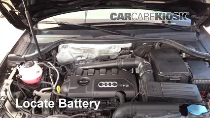 2018 Audi Q3 Quattro Premium 2.0L 4 Cyl. Turbo Batterie Nettoyer la batterie et les cosses
