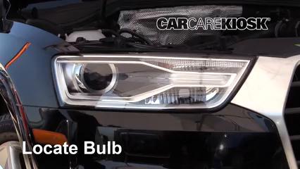 2018 Audi Q3 Quattro Premium 2.0L 4 Cyl. Turbo Éclairage Feu de jour (remplacer l'ampoule)
