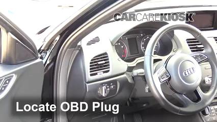 2018 Audi Q3 Quattro Premium 2.0L 4 Cyl. Turbo Lumière « Check engine » du moteur