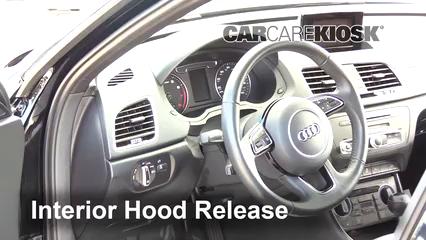 2018 Audi Q3 Quattro Premium 2.0L 4 Cyl. Turbo Capot