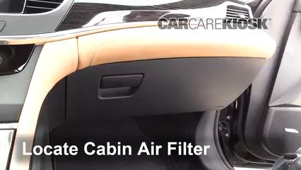 2018 Buick LaCrosse Premium 3.6L V6 Filtre à air (intérieur)