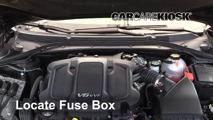 2018 Buick LaCrosse Premium 3.6L V6 Fusible (moteur)