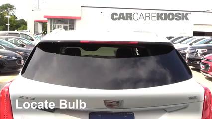 2018 Cadillac XT5 Premium Luxury 3.6L V6 Luces Luz de freno central (reemplazar foco)