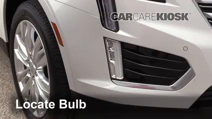 2018 Cadillac XT5 Premium Luxury 3.6L V6 Luces Luz de niebla (reemplazar foco)