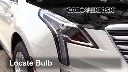 2018 Cadillac XT5 Premium Luxury 3.6L V6 Luces Luz de carretera (reemplazar foco)