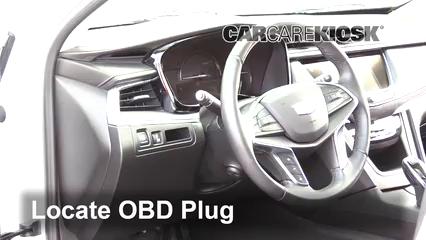 2018 Cadillac XT5 Premium Luxury 3.6L V6 Lumière « Check engine » du moteur