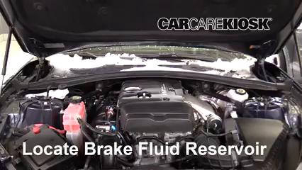 2018 Chevrolet Camaro LT 2.0L 4 Cyl. Turbo Convertible Líquido de frenos Agregar fluido