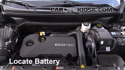 2018 Chevrolet Equinox LS 1.5L 4 Cyl. Turbo Battery Clean Battery & Terminals