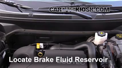 2018 Chevrolet Equinox LS 1.5L 4 Cyl. Turbo Brake Fluid Check Fluid Level