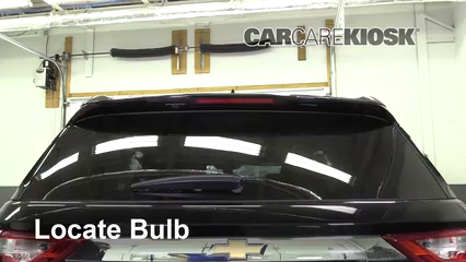 2018 Chevrolet Traverse High Country 3.6L V6 Lights Center Brake Light (replace bulb)