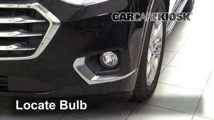 2018 Chevrolet Traverse High Country 3.6L V6 Lights Fog Light (replace bulb)