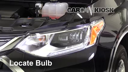 2018 Chevrolet Traverse High Country 3.6L V6 Lights Headlight (replace bulb)