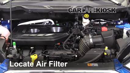 2018 Ford EcoSport Titanium 2.0L 4 Cyl. Filtre à air (moteur)