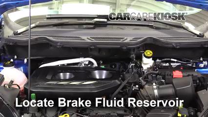 2018 Ford EcoSport Titanium 2.0L 4 Cyl. Liquide de frein