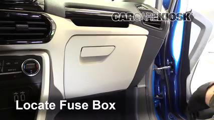 2018 Ford EcoSport Titanium 2.0L 4 Cyl. Fusible (intérieur)