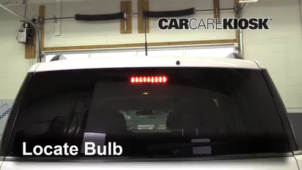 2018 Ford Flex Limited 3.5L V6 Turbo Sport Utility (4 Door) Luces Luz de freno central (reemplazar foco)