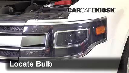 2018 Ford Flex Limited 3.5L V6 Turbo Sport Utility (4 Door) Luces Luz de carretera (reemplazar foco)