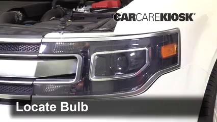 2018 Ford Flex Limited 3.5L V6 Turbo Sport Utility (4 Door) Luces Luz de estacionamiento (reemplazar foco)