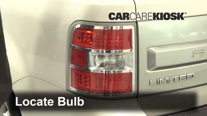 2018 Ford Flex Limited 3.5L V6 Turbo Sport Utility (4 Door) Luces Luz de reversa (reemplazar foco)